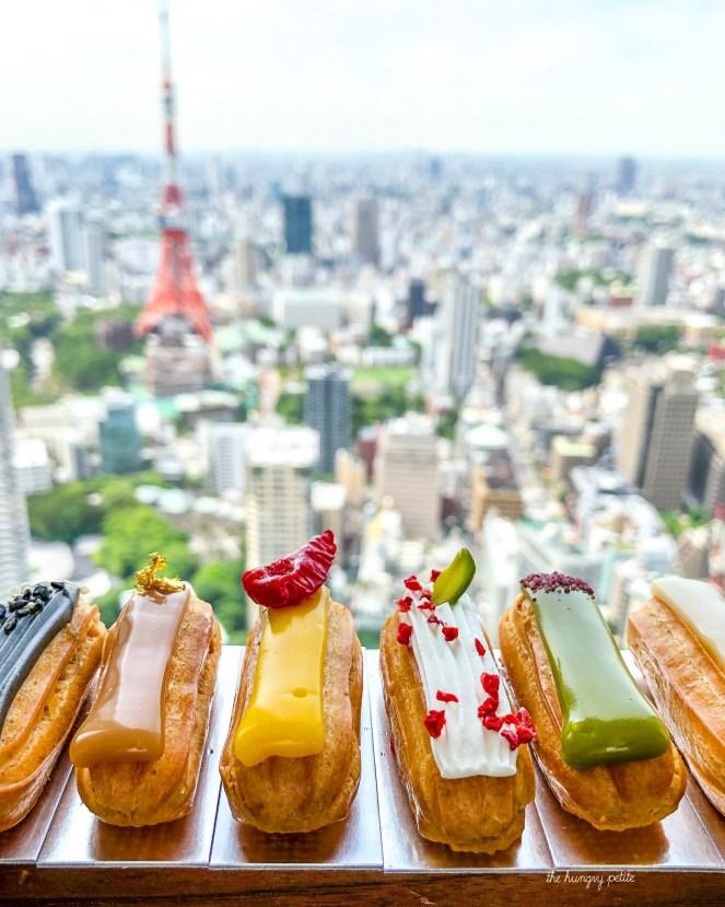 Andaz Tokyo eclairs