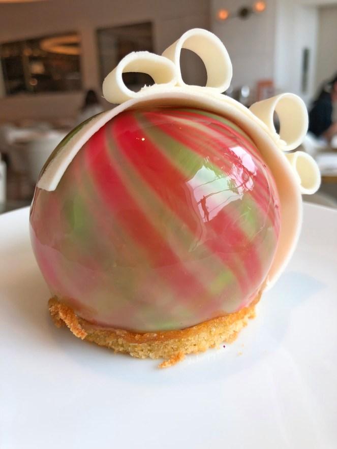 Pistachio Raspberry Marble Cake. Exclusive to DAB Japan.
