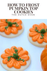 thanksgiving pumpkin cookies
