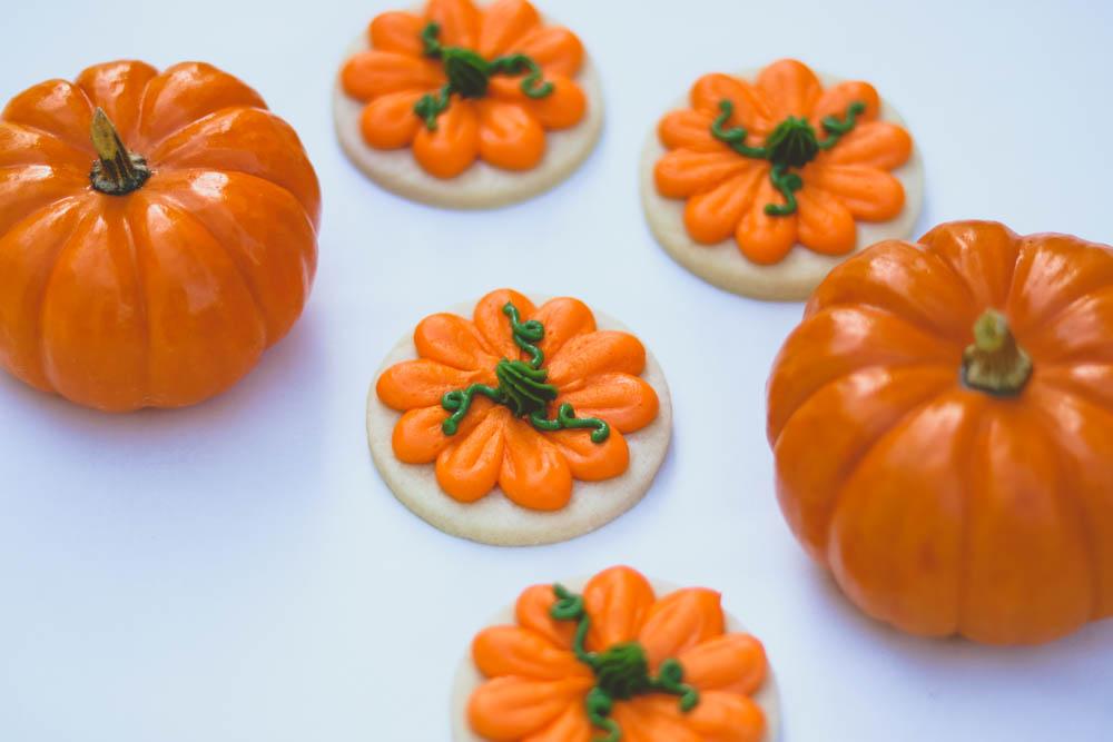 pumpkin cookies thanksgiving