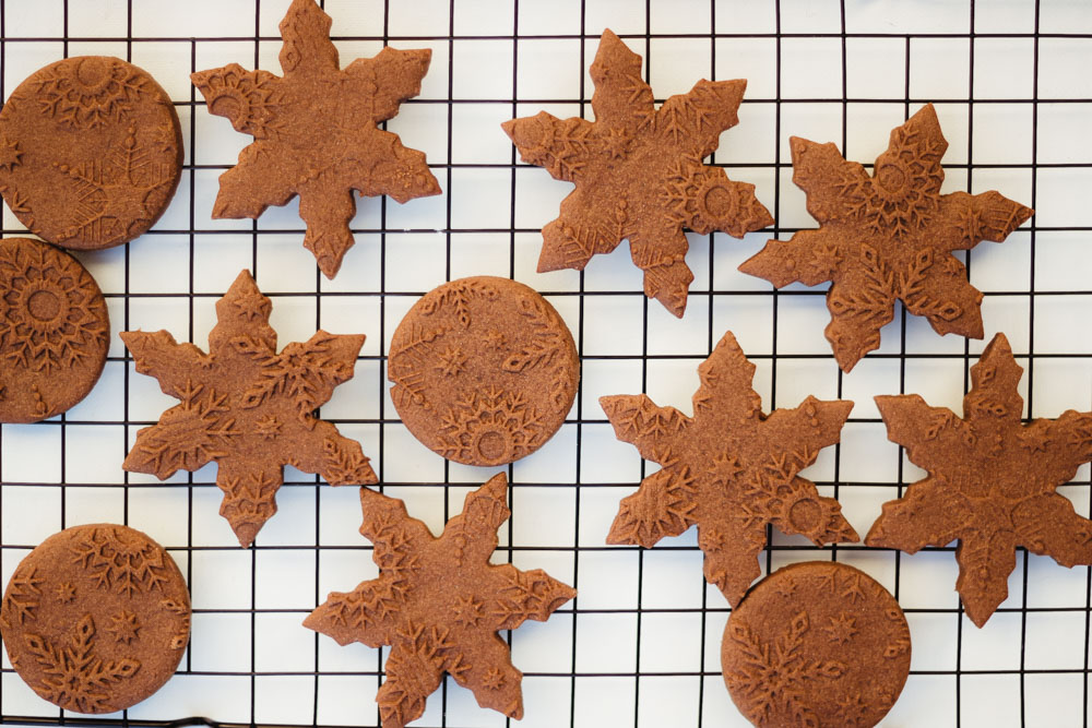 Perfect chocolate cut-out cookies