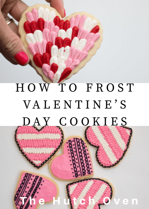 frost valentines day cookies using buttercream the hutch oven