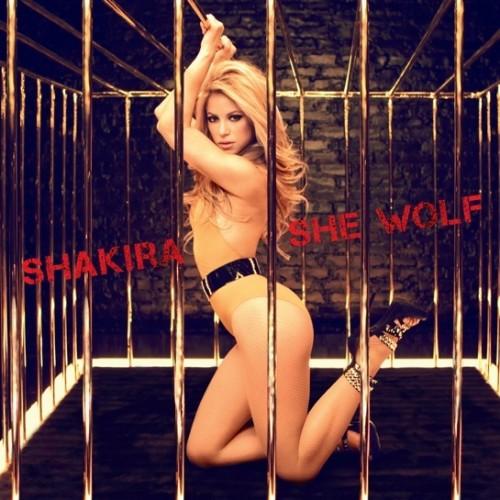 Shakira She Wolf alternate cover