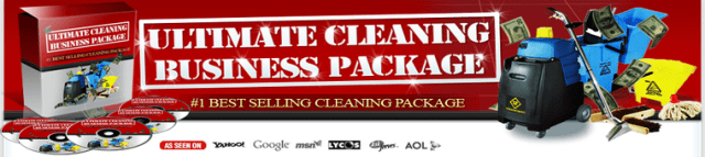 In The Ultimate Cleaning Business Package you'll learn exactly how to start a cleaning business, how to obtain more office cleaning contracts, and how to price your cleaning contracts like the pros.
