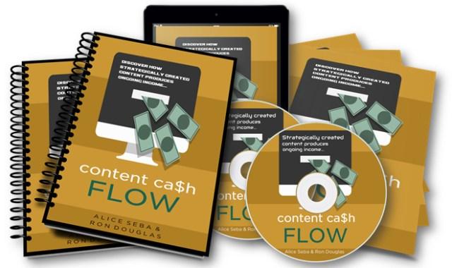 blog comments content cash flow course Alice Seba Ron Douglas