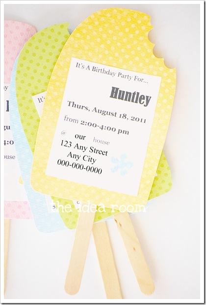 birthday party invitation idea the