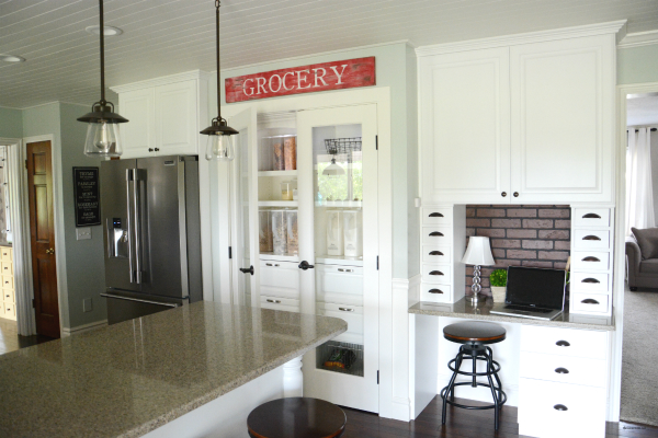 Pantry And Charging Station Tutorial The Idea Room