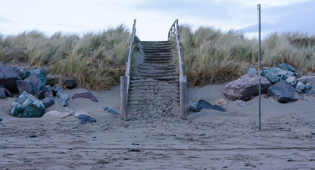 San dunes Bunmahon Beach Copper Coast, Waterford, Ireland