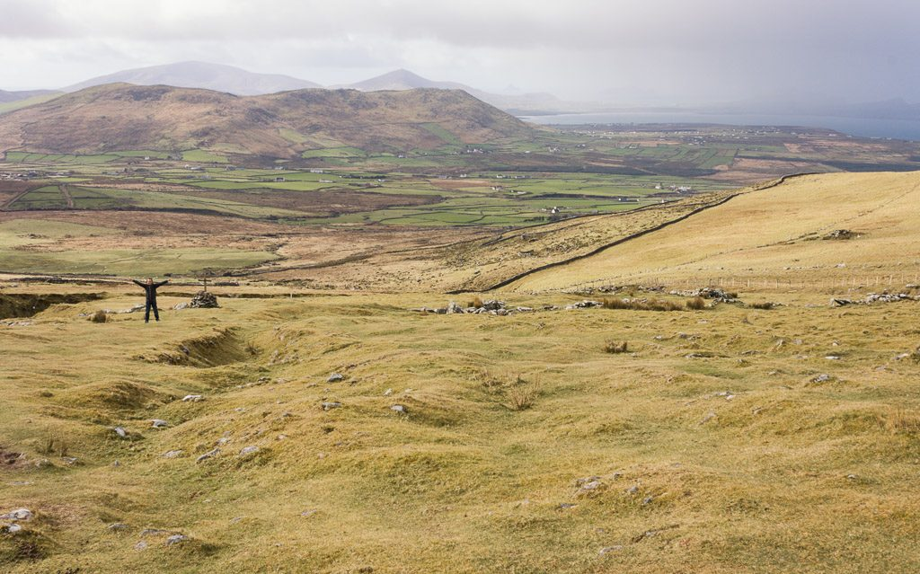 Hiking Mount Brandon in Ireland