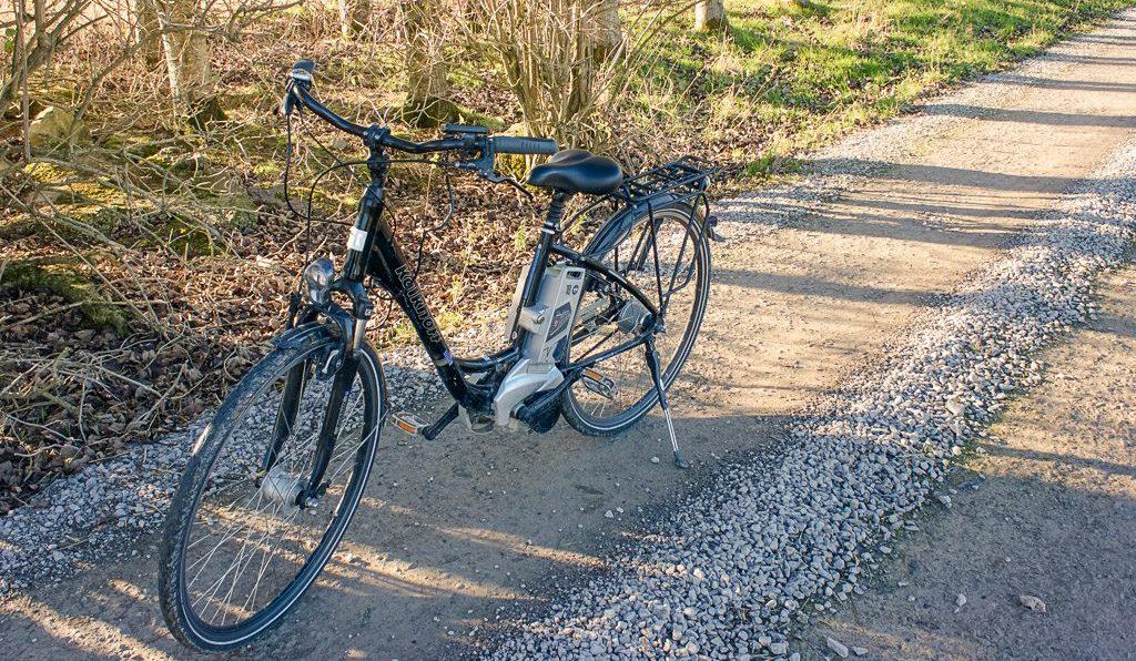 Electric bike in Rock Farm Slane, Boyne Valey