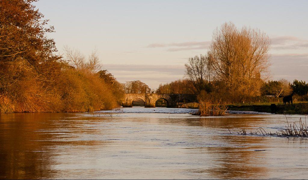 River Boyne in Boyne Valley in Ireland - Meath