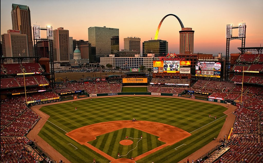 Busch Stadium in St. Louis = Outdoor things to do in St. Louis