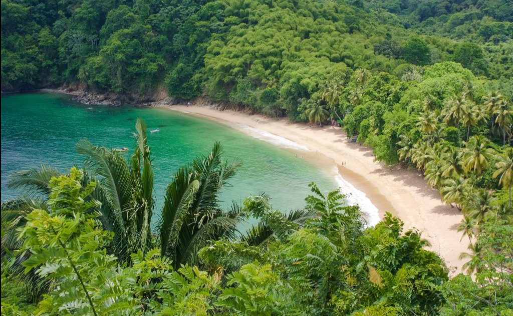 Beaches in Tobago - Englishmans Bay