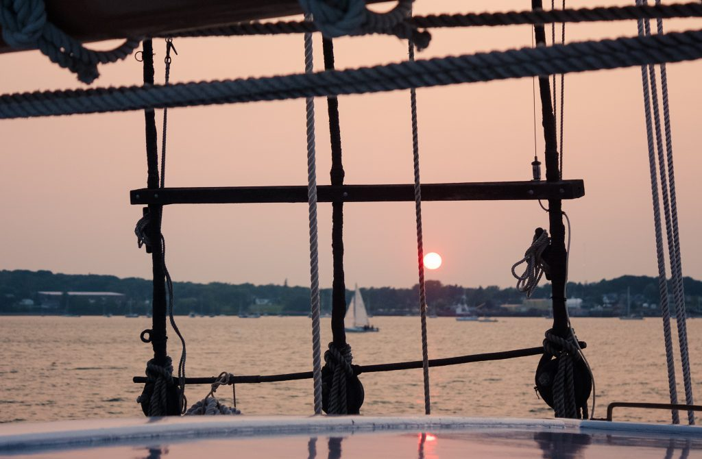 Maine Windjammer Association- Aboard the Victory Chimes