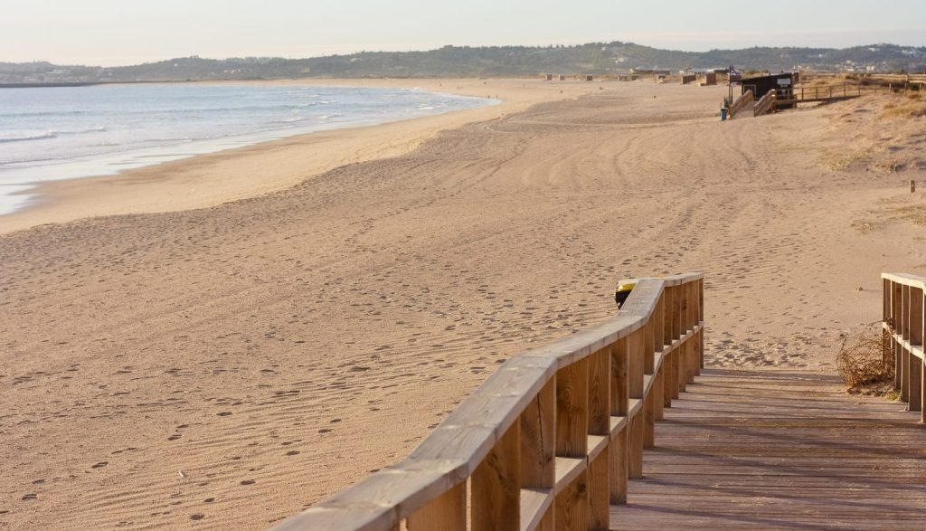 Alvor Beaches in the Algarve, Portugal