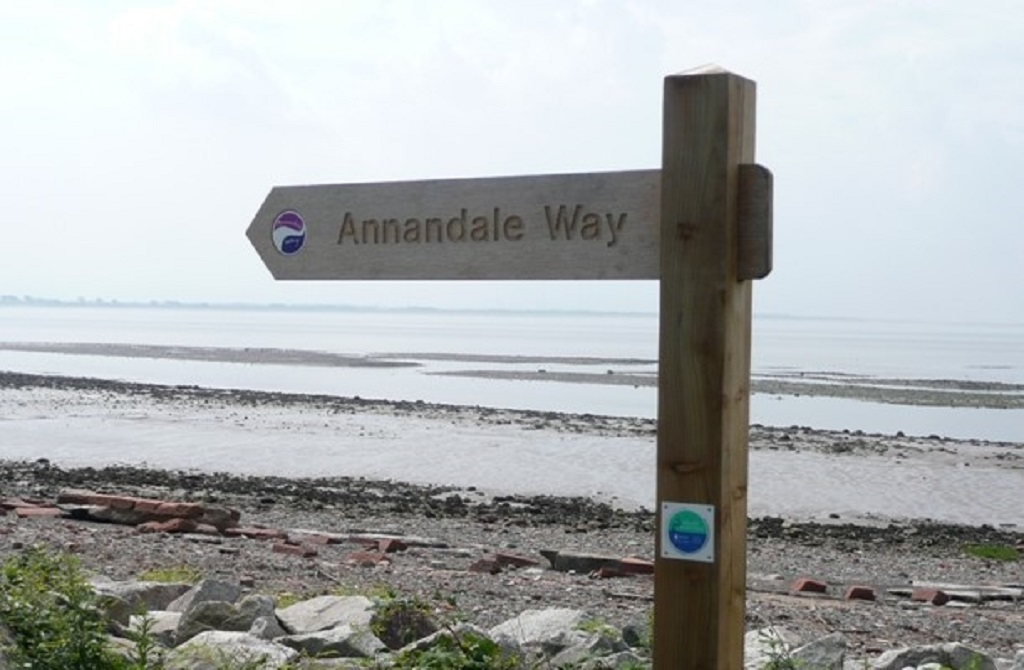Hiking in Scotland, the Annandale Way