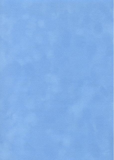 simili cuir velours zeste bleu ciel 70x100