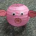 Pig Lantern from Rock Island Co. Ag in the Classroom