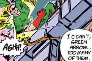 oliver queen in crisis comic