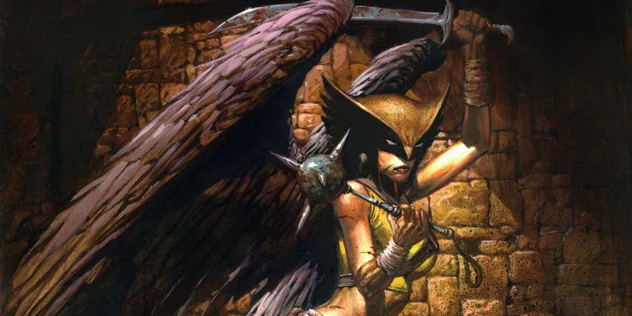 Black Adam Will Introduce Hawkgirl To The DC Extended Universe