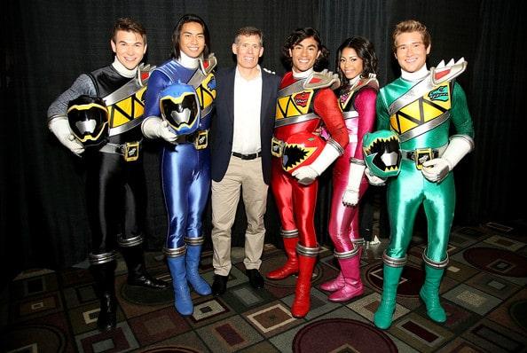 Chip Lynn and Power Rangers