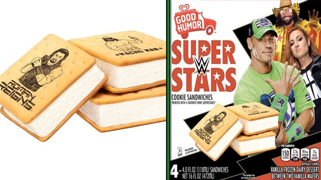 WWE Superstar Ice Cream Bars