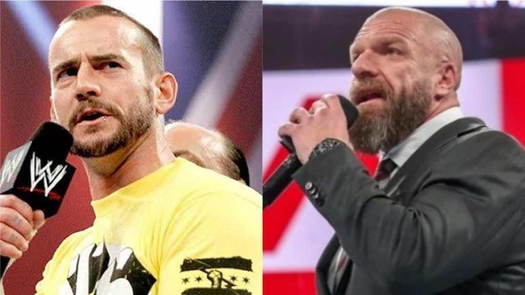 CM Punk Triple H