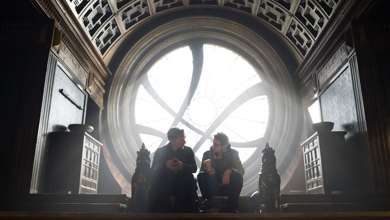 doctor strange Benedict Cumberbatch and Scott Derrickson