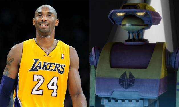 Kobe Bryant's Lesser Known Star Wars Legacy Resurfaces