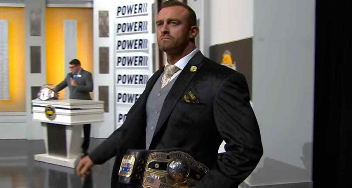 "Nick Aldis Open To Exciting ""Super-Fights"" Between A.E.W. and The N.W.A."