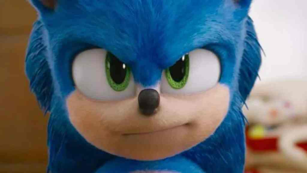 Sonic the Hedgehog face