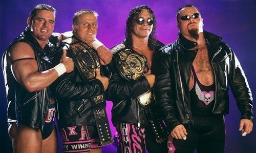 WWE The Hart Foundation