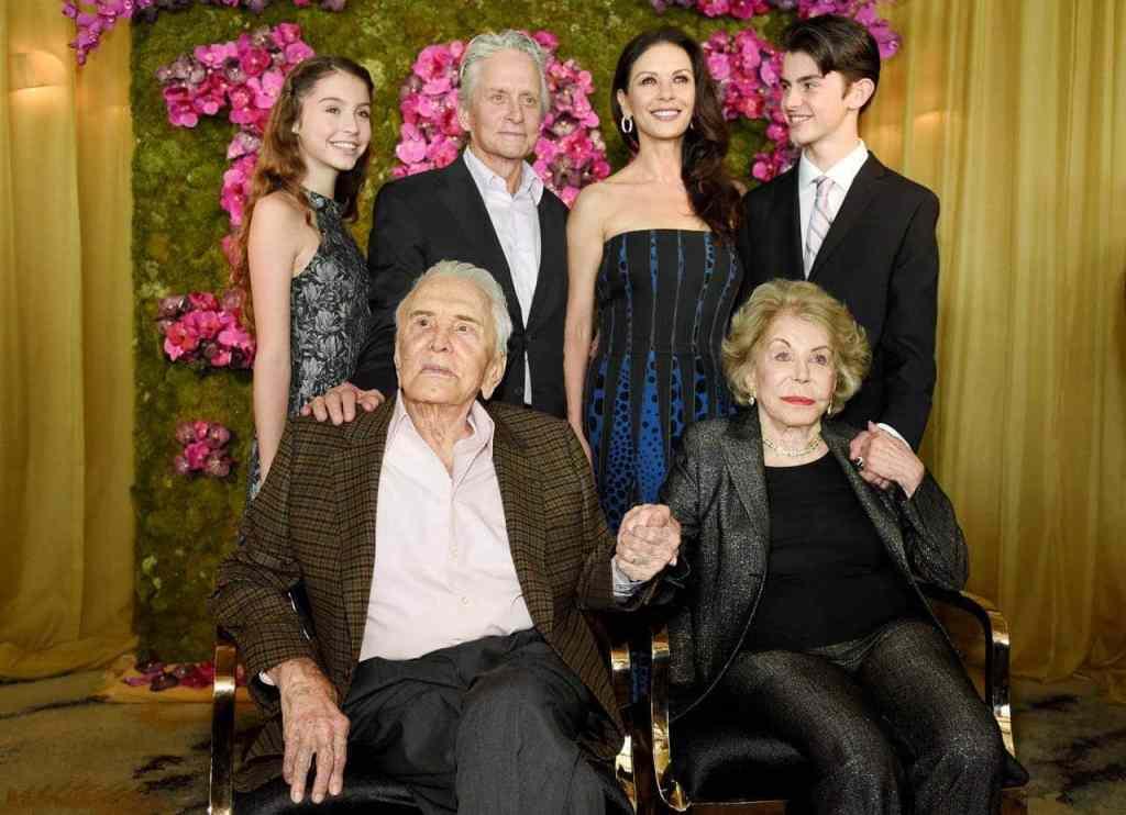 Kirk Douglas Family
