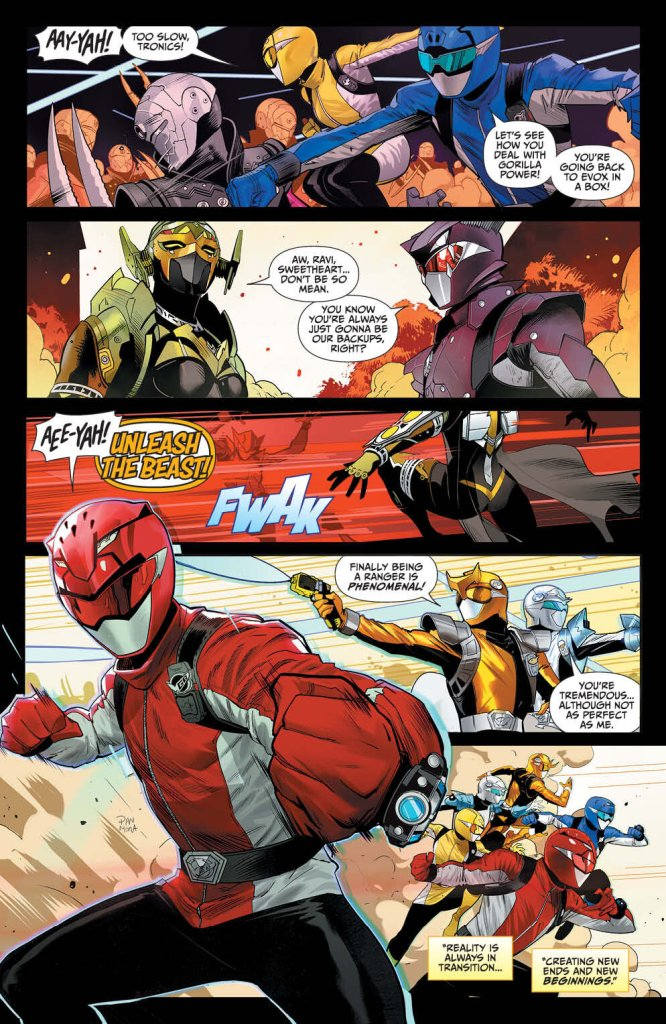 Mighty Morphin Power Rangers #48 Preview