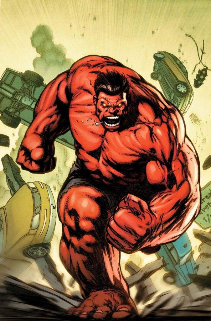Red Hulk Marvel Comics