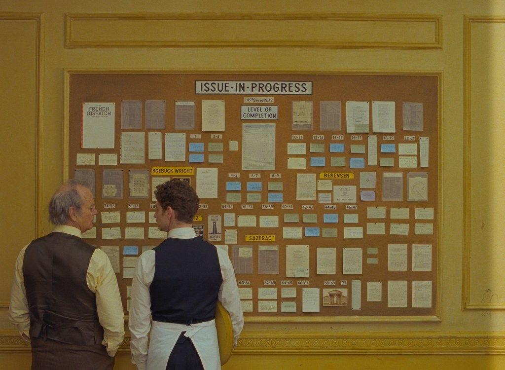 1st Jaw-Dropping Look at Wes Anderson's The French Dispatch - The Illuminerdi