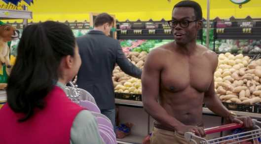 Chidi in The Good Place