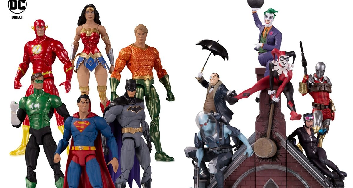 Toy Fair 2020 DC Line-Up Revealed With Collectibles Galore