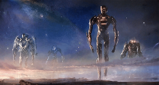 the eternals and the celestials