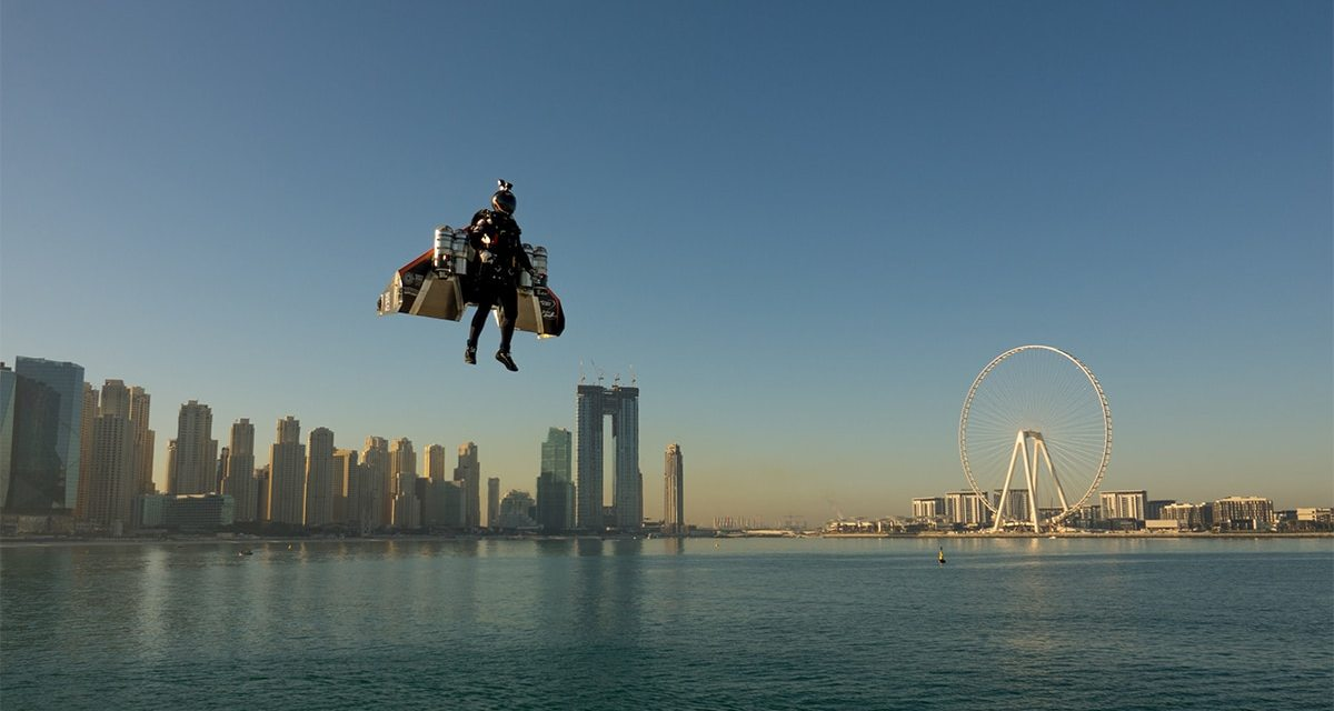 Jetman Dubai Introduces Real-Life Iron Man Flight Suit