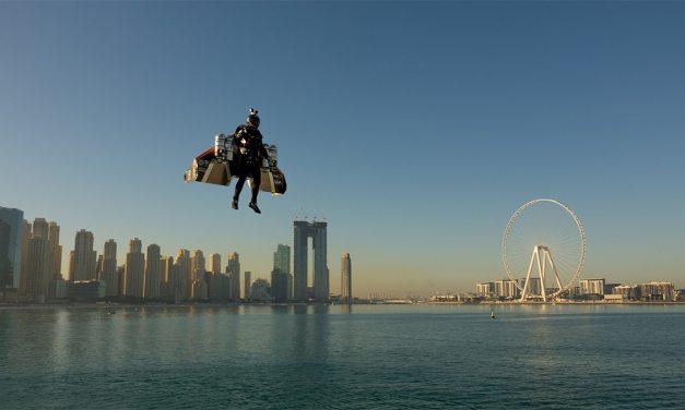 Jetman Dubai Introduces Real-Life Iron Man Flight Suit