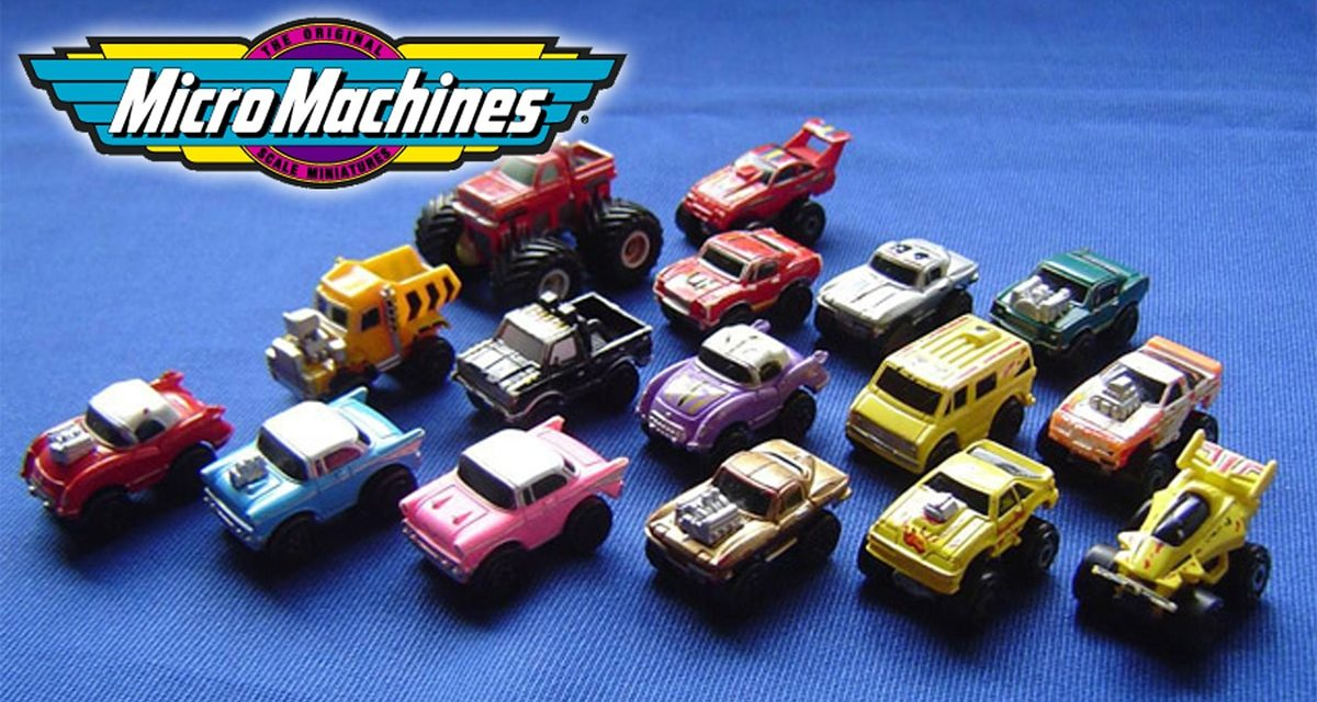Micro Machines Racing Back to Toy Stores in Fall 2020