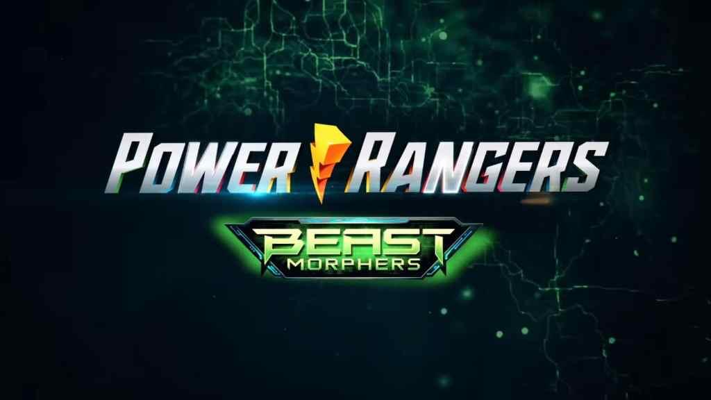 Power Rangers Beast Morphers Title