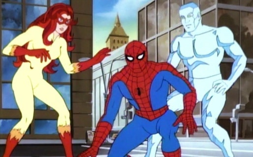 spider-man and friends