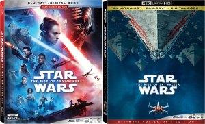 star wars rise of skywalker bluray