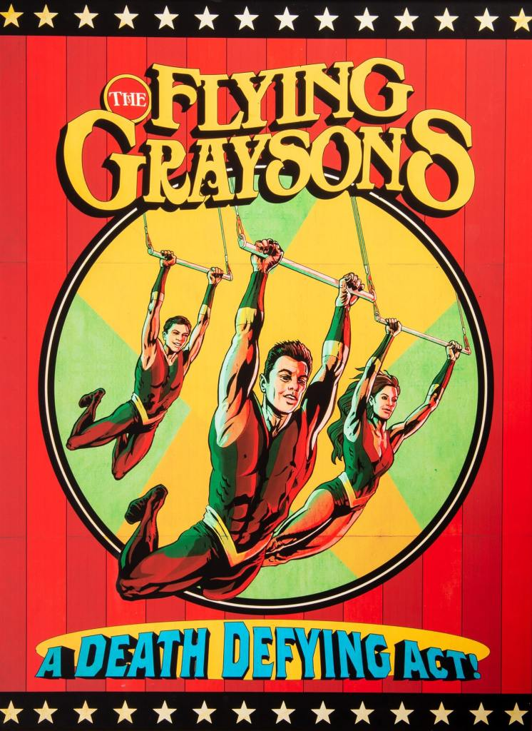 The Flying Graysons and Robin