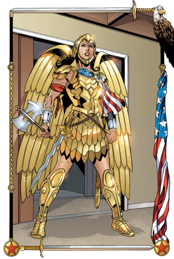 Wonder Woman Golden Eagle Armor DC Comics