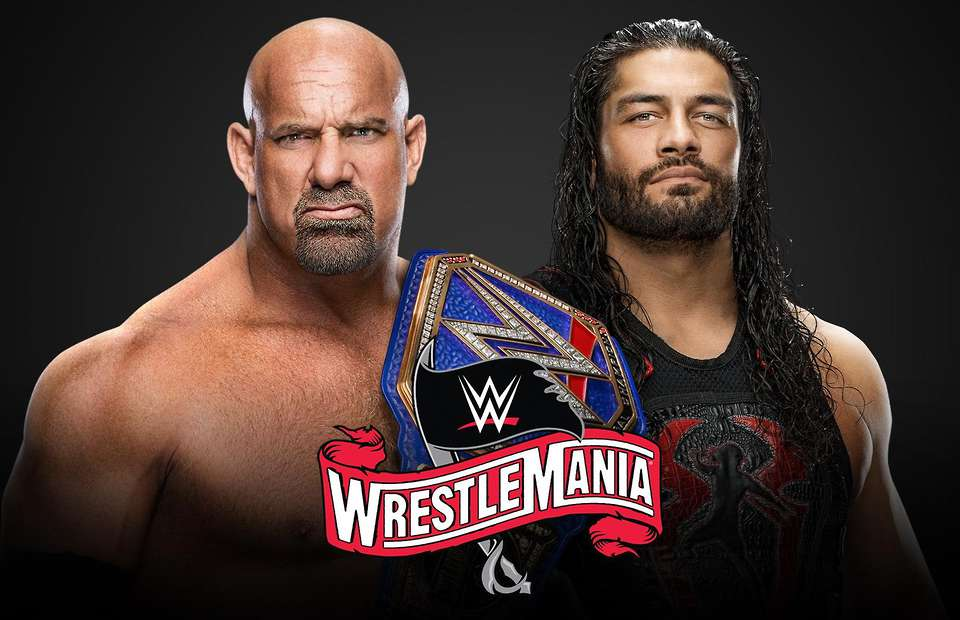 Roman Reigns vs. Goldberg