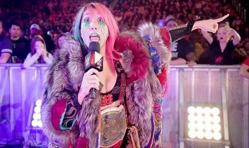 WWE Asuka wrestlemania