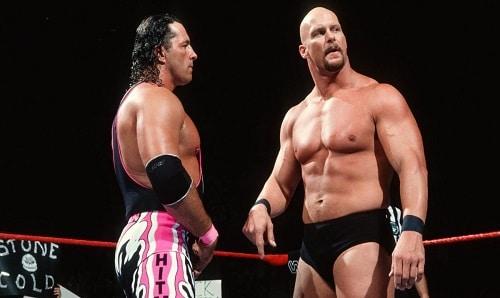WWE Bret Hart vs Stone Cold Steve Austin